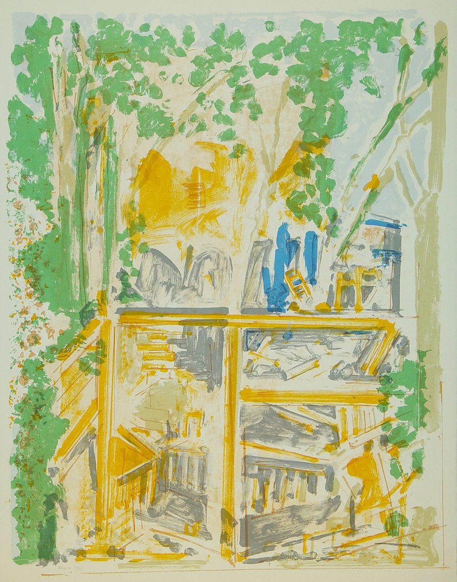 View From The Window II (1993), Screenprint, 76 x 56 cm, Edition: 47