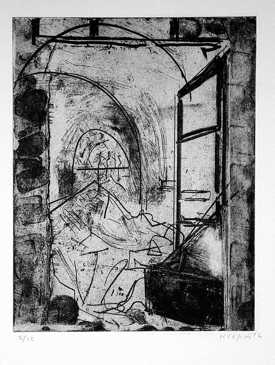 """ליליאן קלאפיש, סדנה (1994), שעווה רכה, גובה 38 ס""""מ, רוחב 28 ס""""מ"""