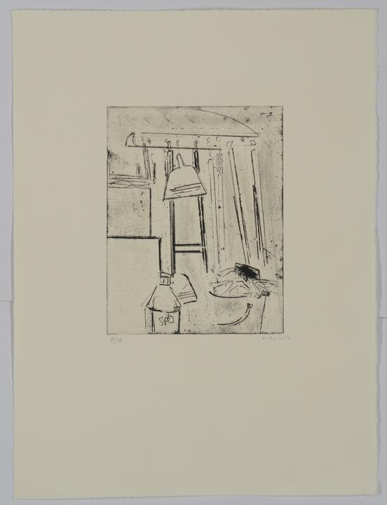 """סדנה (1994), תחריט יבש, גובה 38 ס""""מ, רוחב 28 ס""""מ, מהדורה: 12"""