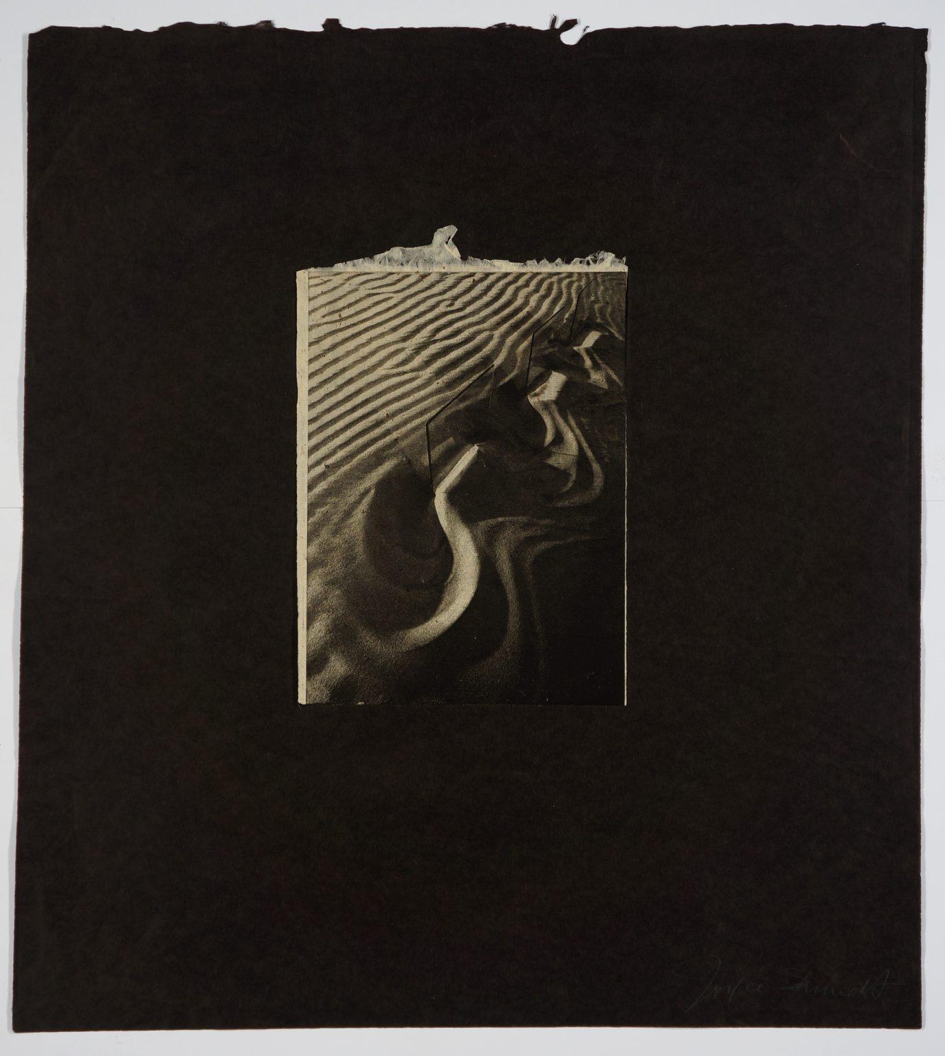 Joyce Schmidt, Untitled (1982), Photoetching on Kozo paper mounted to  Mitnan (Thymelaea hirsuta) paper , 52.5 x 47 cm