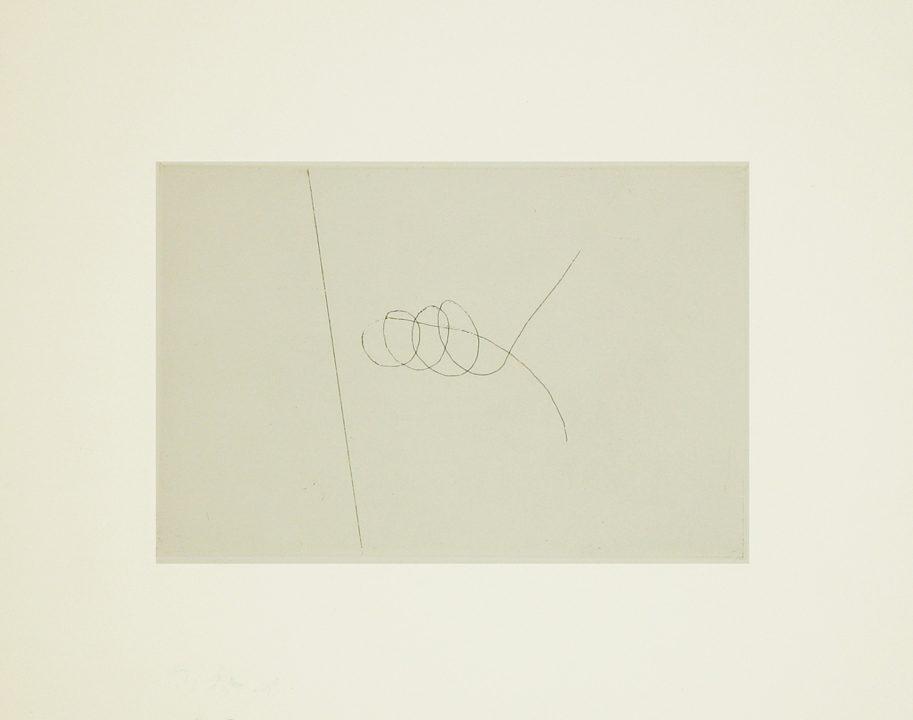 """מיכאל גרוס, ללא כותרת (1978), תצריב, גובה 24 ס""""מ, רוחב 29 ס""""מ"""