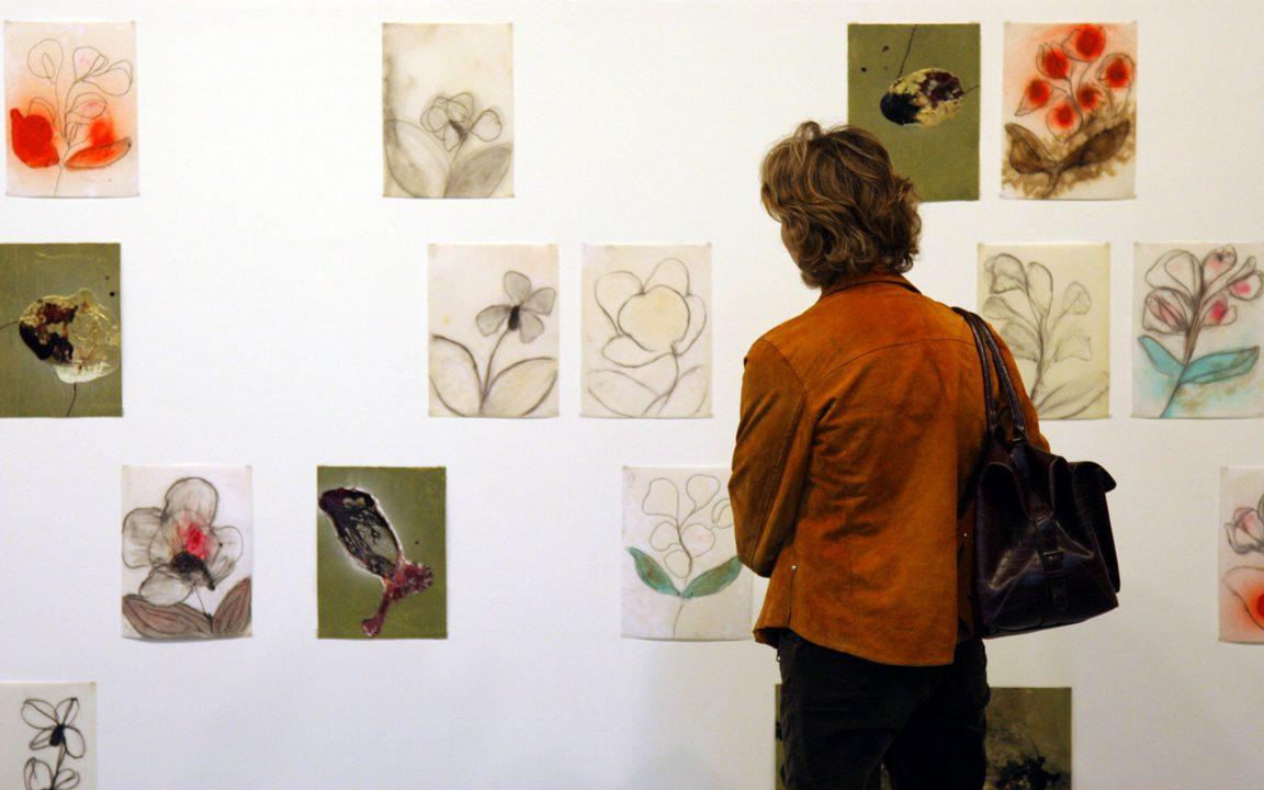 """עבודות של משה גרשוני בתערוכה """"אורלנדו"""" (2005)"""